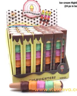 Ice Cream Cone Highlighter's