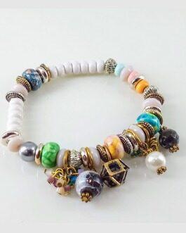 Greek styled beaded bracelet